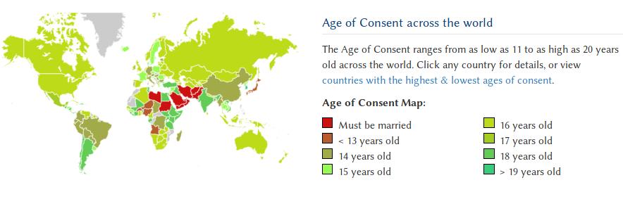 Screenshot taken from www.ageofconsent.net